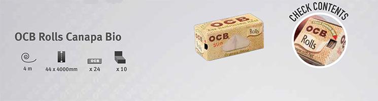 Cartina OCB Canapa Bio Rolls