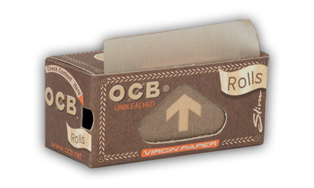 OCB Rolls Slim Virgin Brown