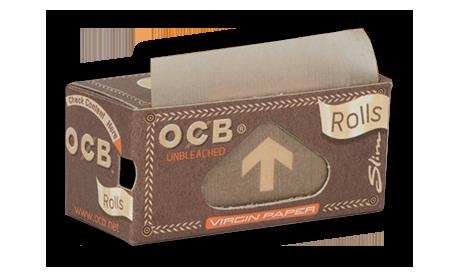OCB Rolls Slim Virgin Brown