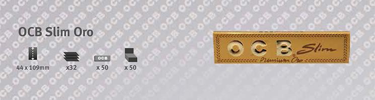 Cartina OCB Premium Slim Oro