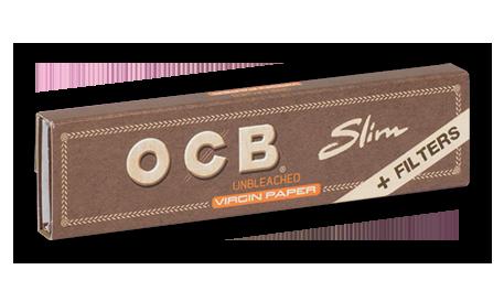 OCB Slim Virgin Brown + Filtri Brown