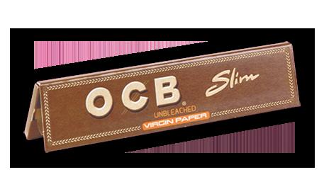 OCB Slim Virgin Brown
