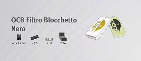 Filtro OCB Blocchetto Nero
