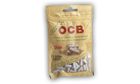 Filtri OCB Lisci 6mm Biodegradabili