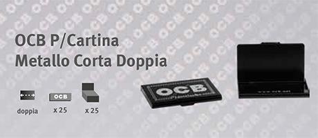 Accessori OCB Porta Cartina Metallo Corta Doppia
