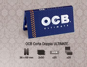 Cartina OCB Ultimate Corta Doppia