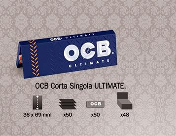 Cartina OCB Ultimate Corta Singola