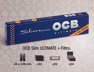 Cartina OCB Ultimate Slim + Filtri