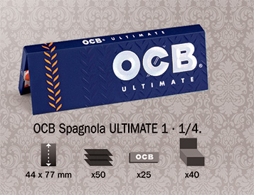 Cartina OCB Ultimate Spagnola 1 1/4