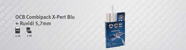 Combipack OCB Xpert Blu + Filtri Ruvidi 5,7mm